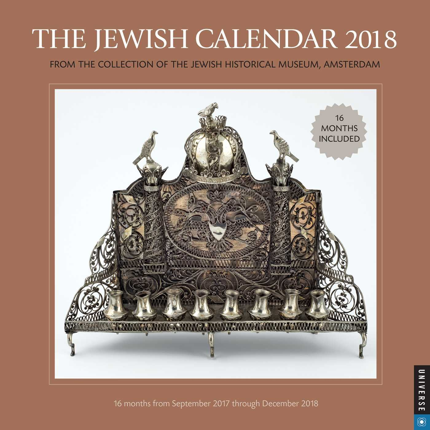 The Jewish 2018 Calendar  From The Collection Of The Jewish Historical Museum Amsterdam