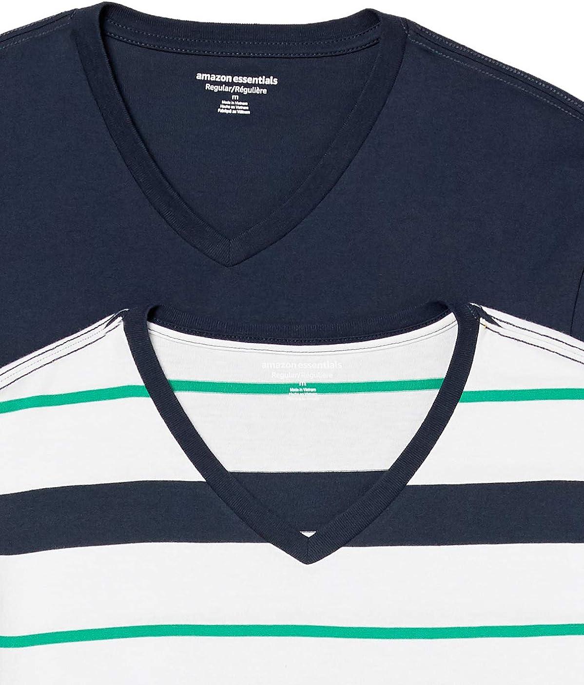 Essentials 2-Pack Loose-fit V-Neck T-Shirt Fashion-t-Shirts Hombre
