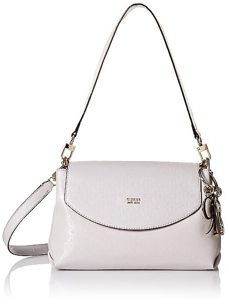 GUESS Tamra Shoulder Bag Stone: Amazon.co.uk: Shoes & Bags