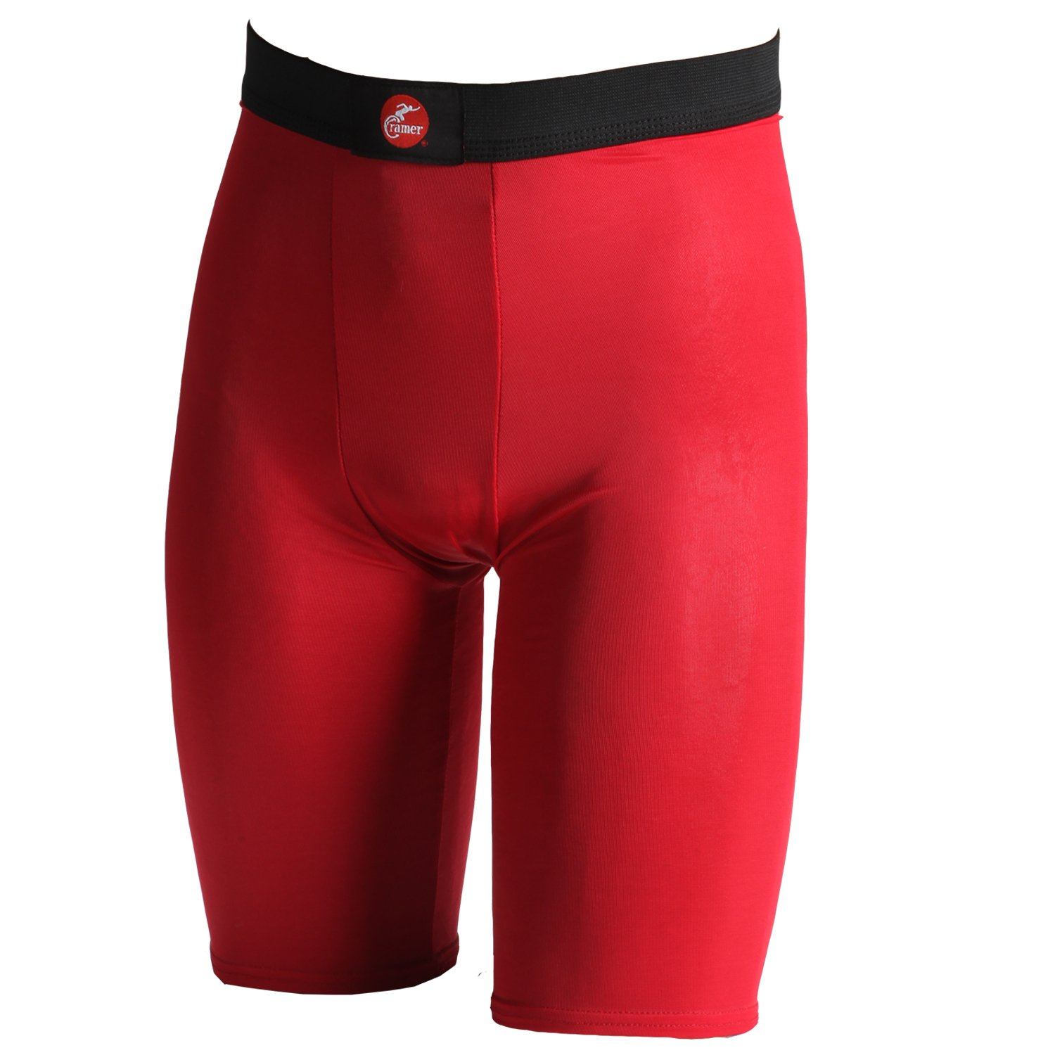 Cramer Men's Compression Shorts for Quads, Groin and Hamstring Support, Athletic Compression Gear, Performance Compression Shorts, Anti-Bacterial and Moisture-Wicking Fabric