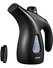Clothes Steamer, Aicok 200ml Portable Garment Steamer Clothes, 900W Powerful Handheld Travel Steamer for Clothes, Fast Heat-up Clothing Steamer with Brush and Pouch
