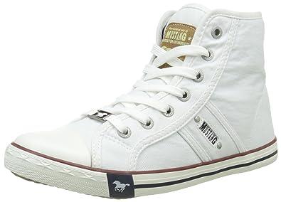 Mustang 1099-502, Zapatillas Altas para Mujer: Amazon.es: Zapatos y complementos