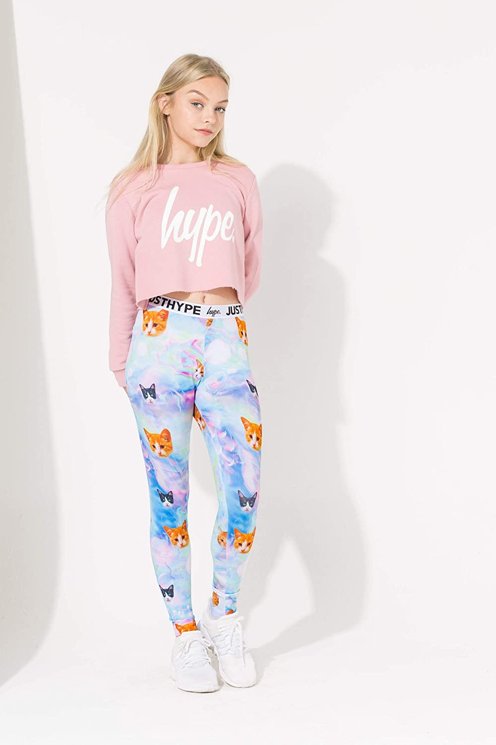 Hype Fairy Cats Kids Leggings