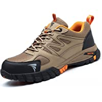 SROTER Zapatos de Seguridad para Hombre Mujer Puntas de Acero Antideslizantes Transpirables Anti-Piercing Zapatos de…