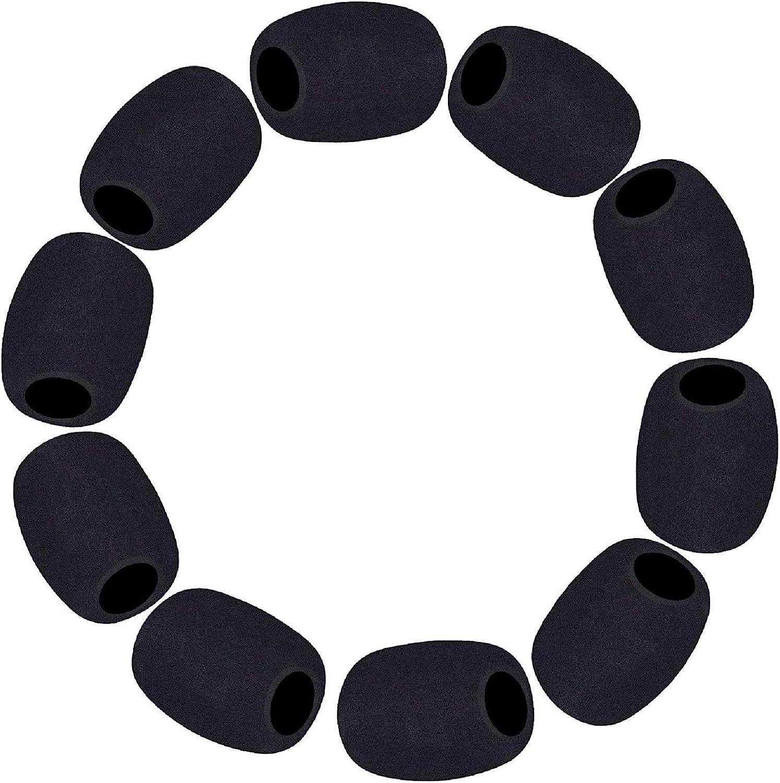 Filtro Anti Pop Fundas De Espuma Microfono Headset  Pack 10