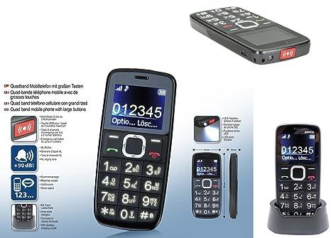 telefono cellulare per anziani tasti grandi samsung  Telefono Cellulare per Anziani con Tasti Grandi Display Numeri ...