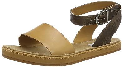 6759e15bb47c Clarks Women s Romantic Moon Brown Leather Fashion Sandals - 3.5 UK India (36  EU