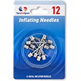 Basketball Pump Needle - Ball Pump Inflation Needles Pack of 12 - Inflate Pump Needle for Balls - Pump Needle Adaptor for Soc
