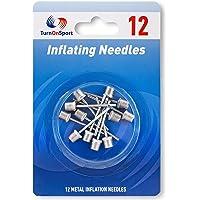 Basketball Pump Needle - Ball Pump Inflation Needles Pack of 12 - Inflate Pump Needle for Balls - Pump Needle Adaptor…