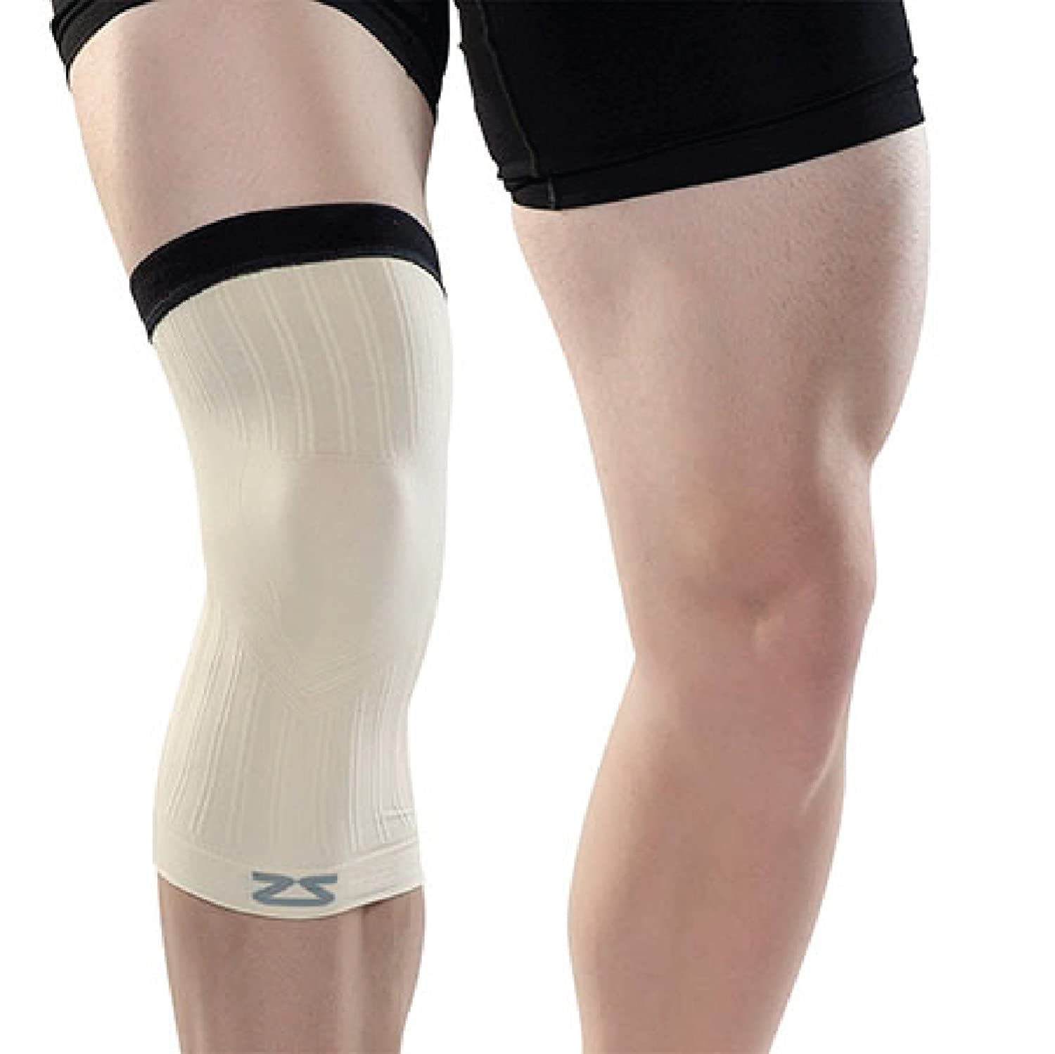 1ce587787f Amazon.com: Zensah Compression Knee Sleeve - Relieve Knee Pain, Treat Runners  Knee, Patella Support: Sports & Outdoors
