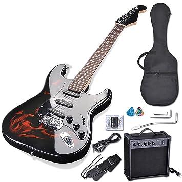 """AW 39 """"Full Size – Set de guitarra eléctrica con amplificador de 10 W"""