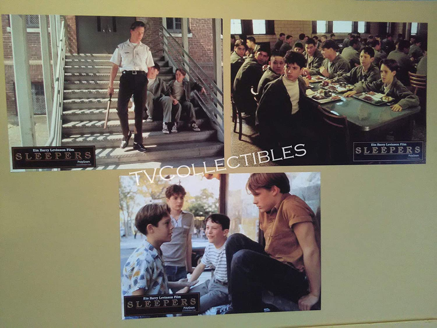 Amazon Com Lobby Card Lot Sleepers Brad Renfro Geoffrey Wigdor Joe Perrino Jonathan Tucker Photographs