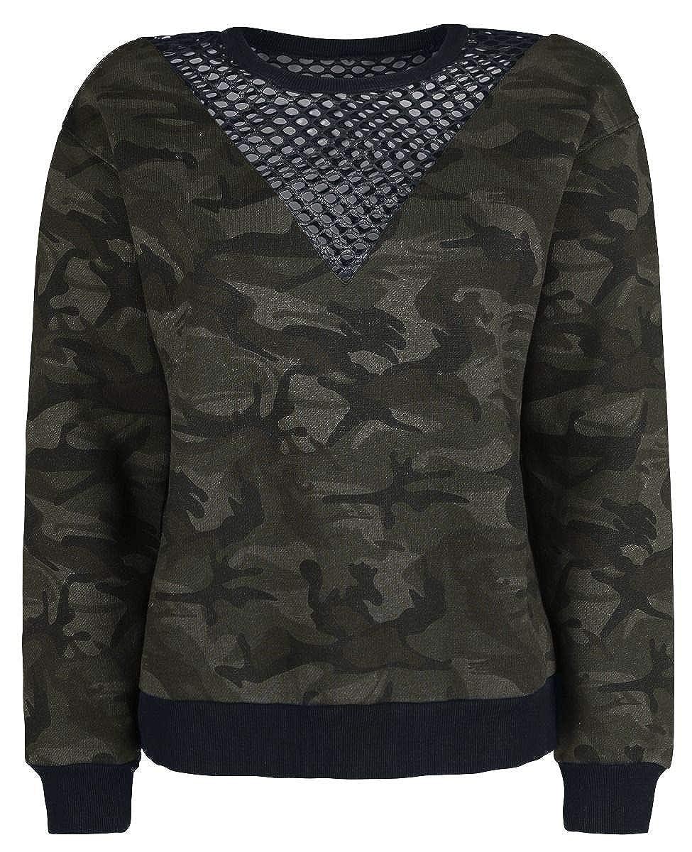 Fashion Victim Camo Sweatshirt Sweatshirt Camouflage