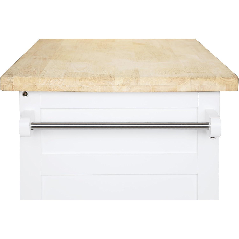 Amazon Kitchen Cart Rolling Island Storage Unit Cabinet