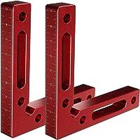 "Positionering Vierkanten 90 graden, 4,7 ""x 4,7 ""L-Type Hoekklem Aluminium Bevestiging Hoek Klemmen Vierkant, Haakse…"