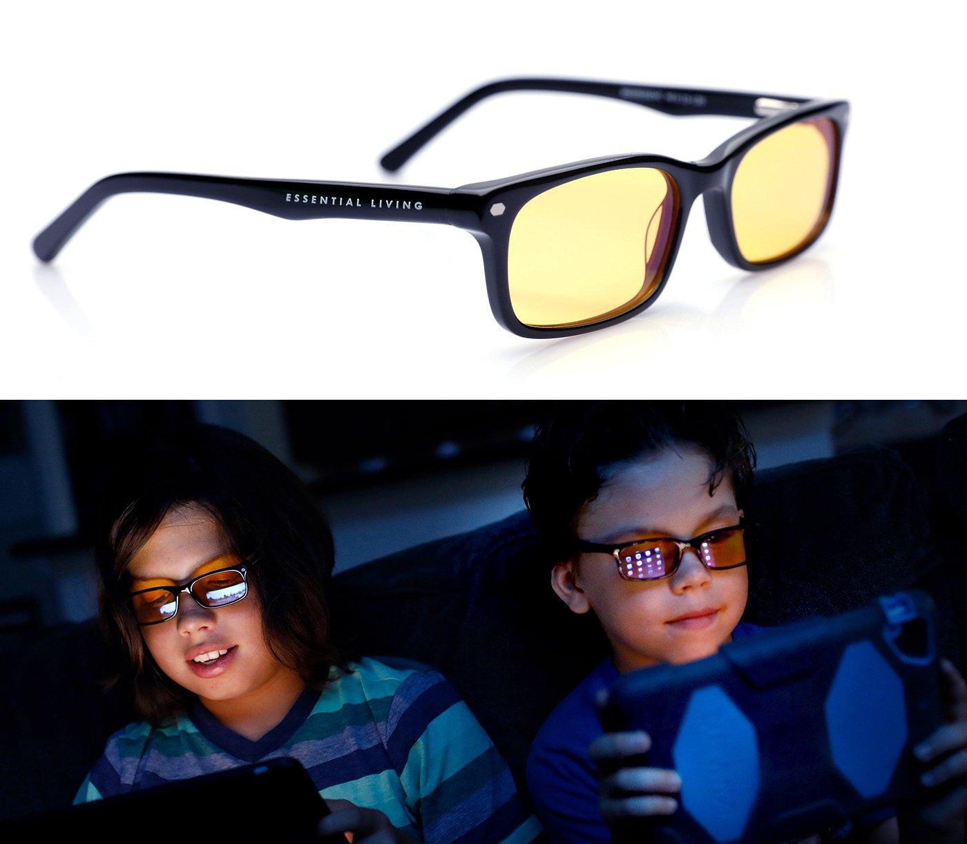 Kids Blue Light Blocking Glasses for Kids: Block 95% of Blue Light with Kid Size Blue Blocker Glasses