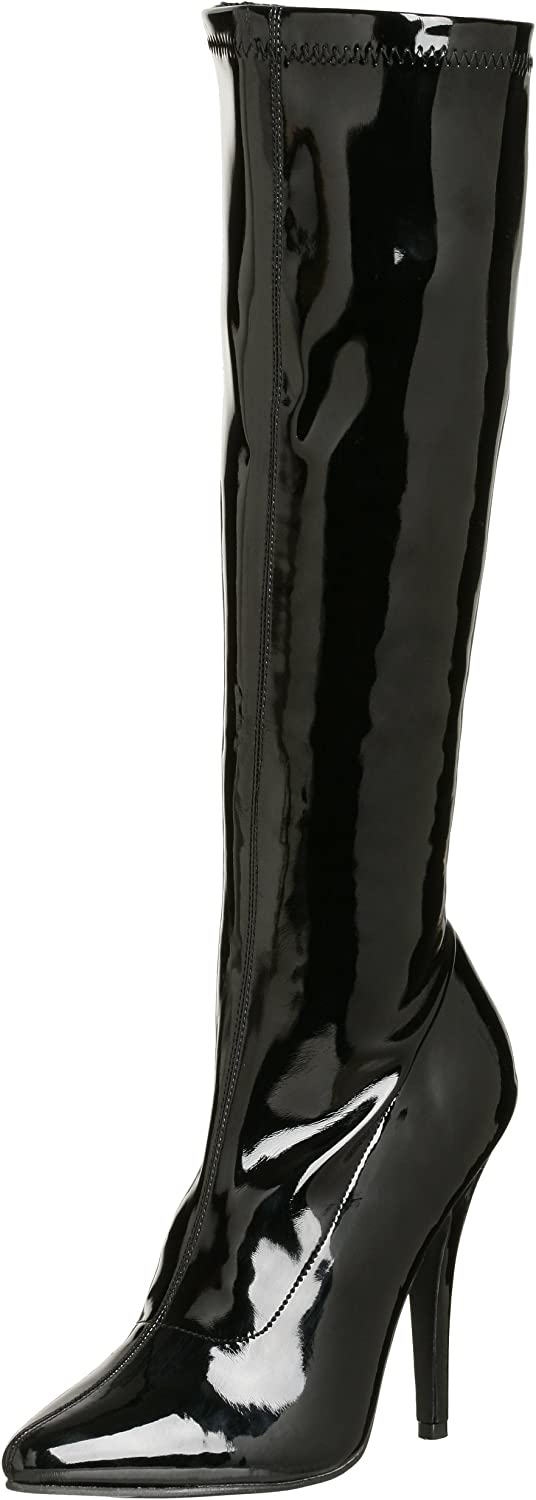 Pleaser Women's Seduce-2000 Knee-High Boot