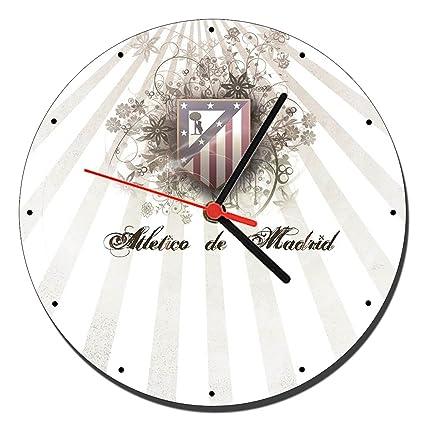 MasTazas Atletico De Madrid B Reloj de Pared Wall Clock 20cm