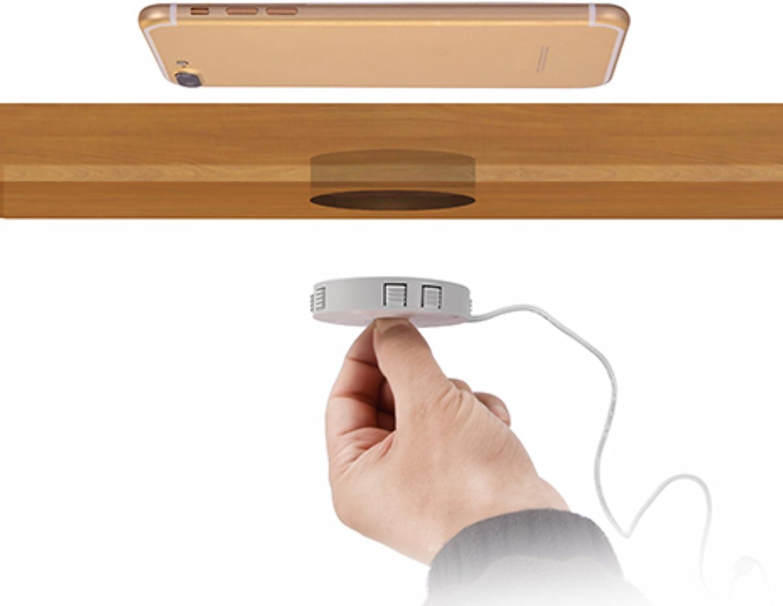 Qi empotrado cargador carga rápida inalámbrica inducción cargador wireless estación de carga para smartphones y accesorios: Amazon.es: Iluminación