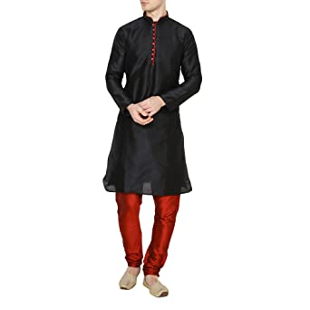 Royal Kurta Men's Kurta Pyjama Set Men's Kurta Sets at amazon