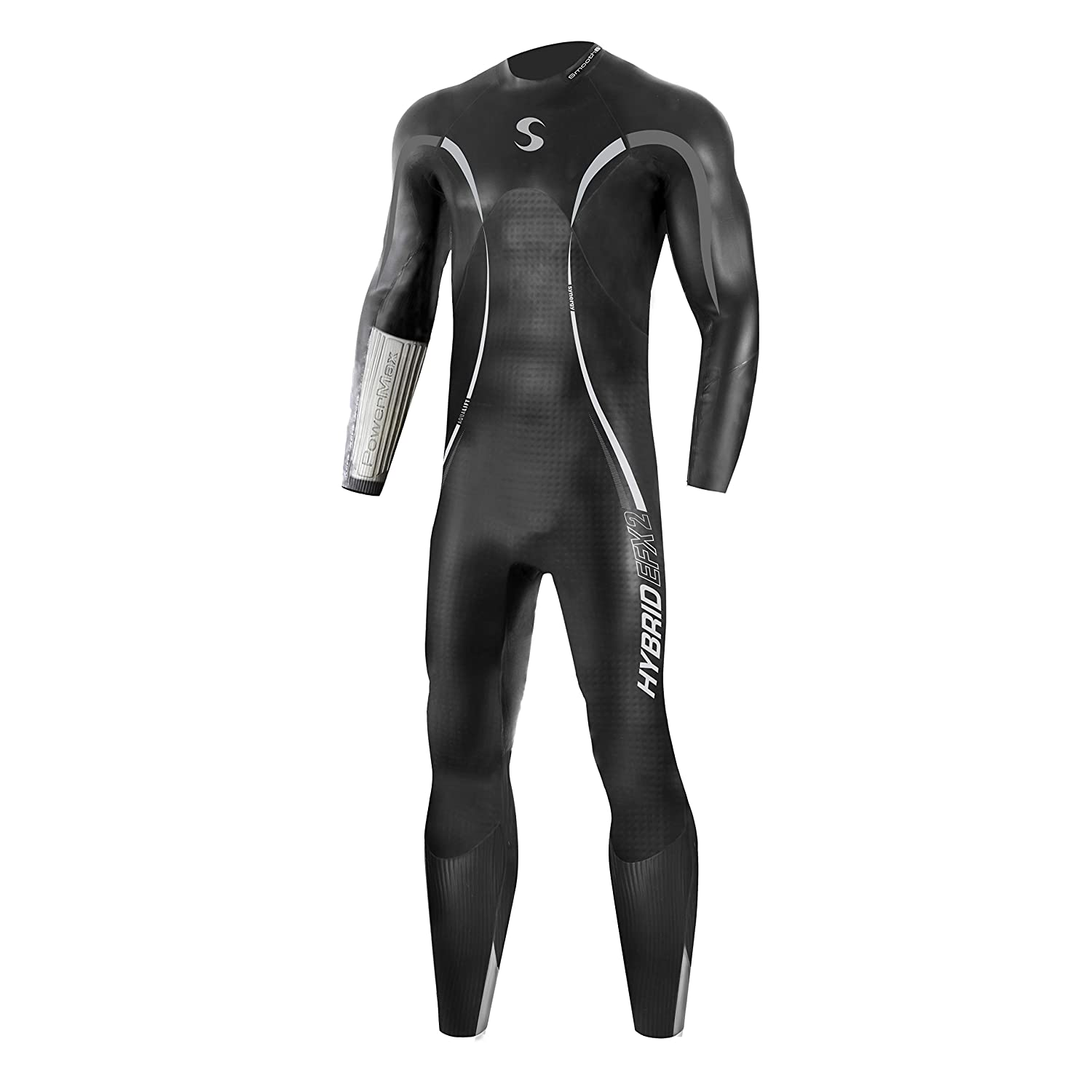 3ee0f9fec4b Amazon.com: Synergy Triathlon Wetsuit - Men's Hybrid Fullsleeve Smoothskin  Neoprene for Open Water Swimming Ironman & USAT Approved: Sports & Outdoors