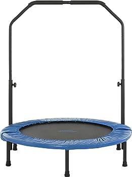 Upper Bounce 40 Inch Mini Foldable Rebounder Fitness Trampoline