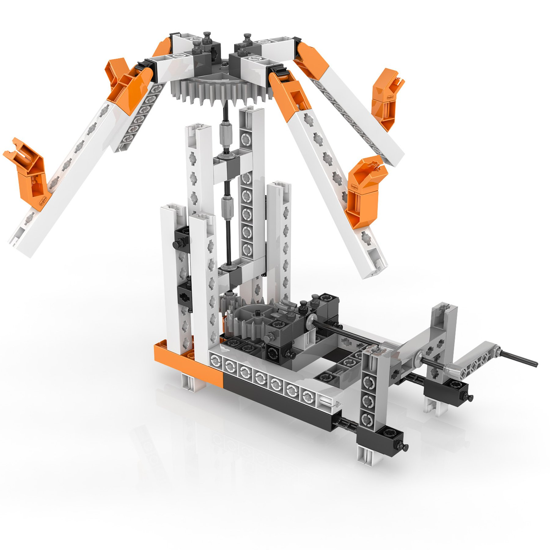 Engino Discovering STEM Simple Machines Mechanisms That Multiply Force Construction Kit by Engino (Image #7)