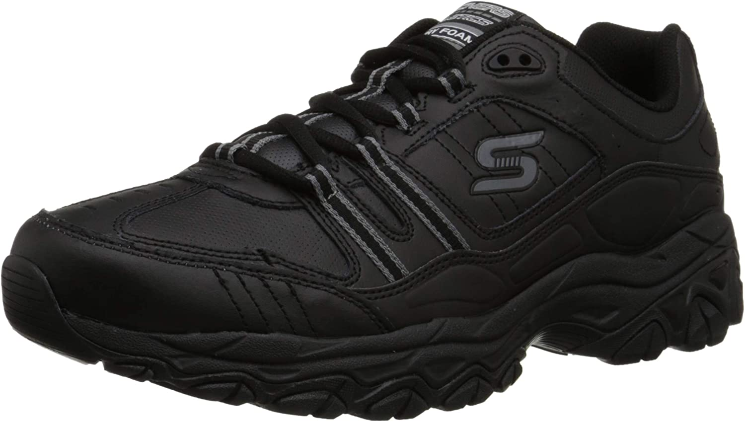 Skechers Sport Men's Afterburn Memory Foam Strike On Training Shoes