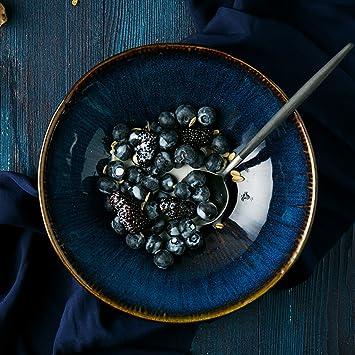 Creative Ceramic Tableware Salat Ramen Suppe Schüssel Obst Schale ...
