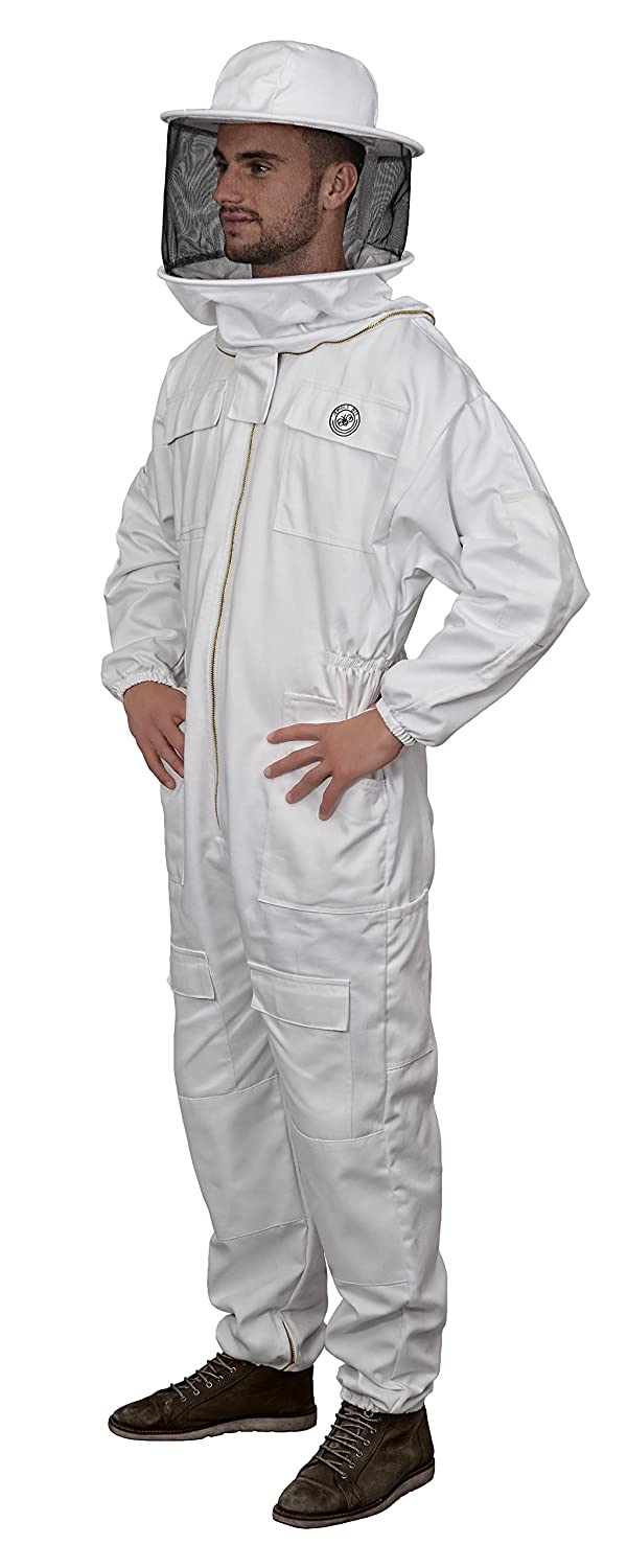Humble Bee 410-XXS Polycotton Beekeeping Suit with Round Veil XX Small