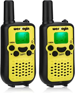 Amazon.com: WES TAYIN wesTayin Walkie Talkies para niños ...