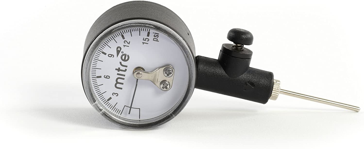 Mitre Ball Pressure Gauge - Grey: Amazon.es: Deportes y aire libre