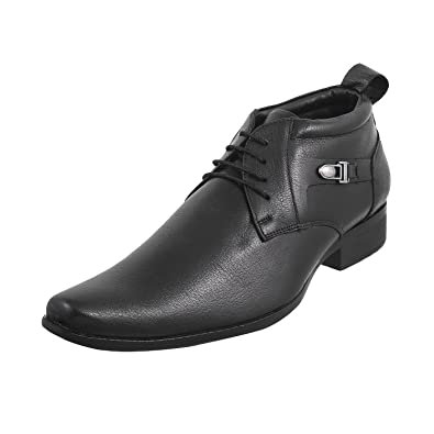 metro hommes bottes en cuir cuir cuir noir (    noir) (taille euro / royaume - uni 531d1d