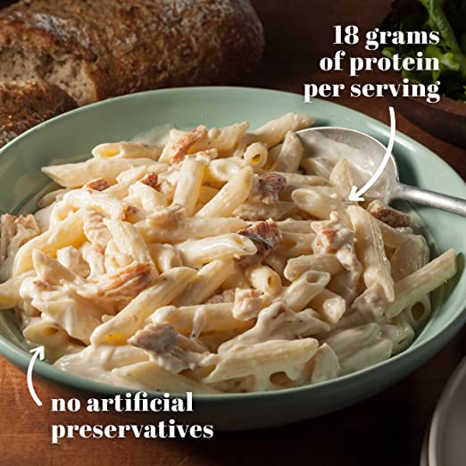 Bob Evans, Roasted Chicken Alfredo Pasta, 20 oz: Amazon.com: Grocery & Gourmet Food