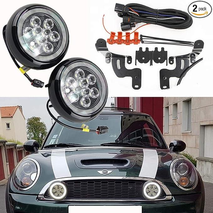 Amazon.com: Mini Cooper Led Rally Driving Lights - NSLUMO ...