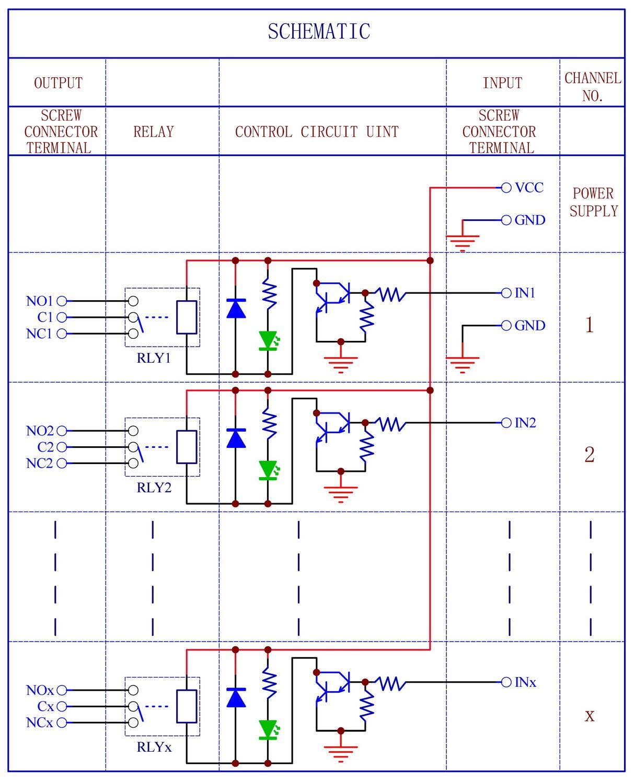 Electronics Salon Din Rail Mount 4 Spdt 10amp Power Relay Interface 12v Switch Datasheet Module Dc Version Industrial Scientific
