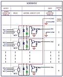 Electronics-Salon DIN Rail Mount 4 SPDT 10Amp Power