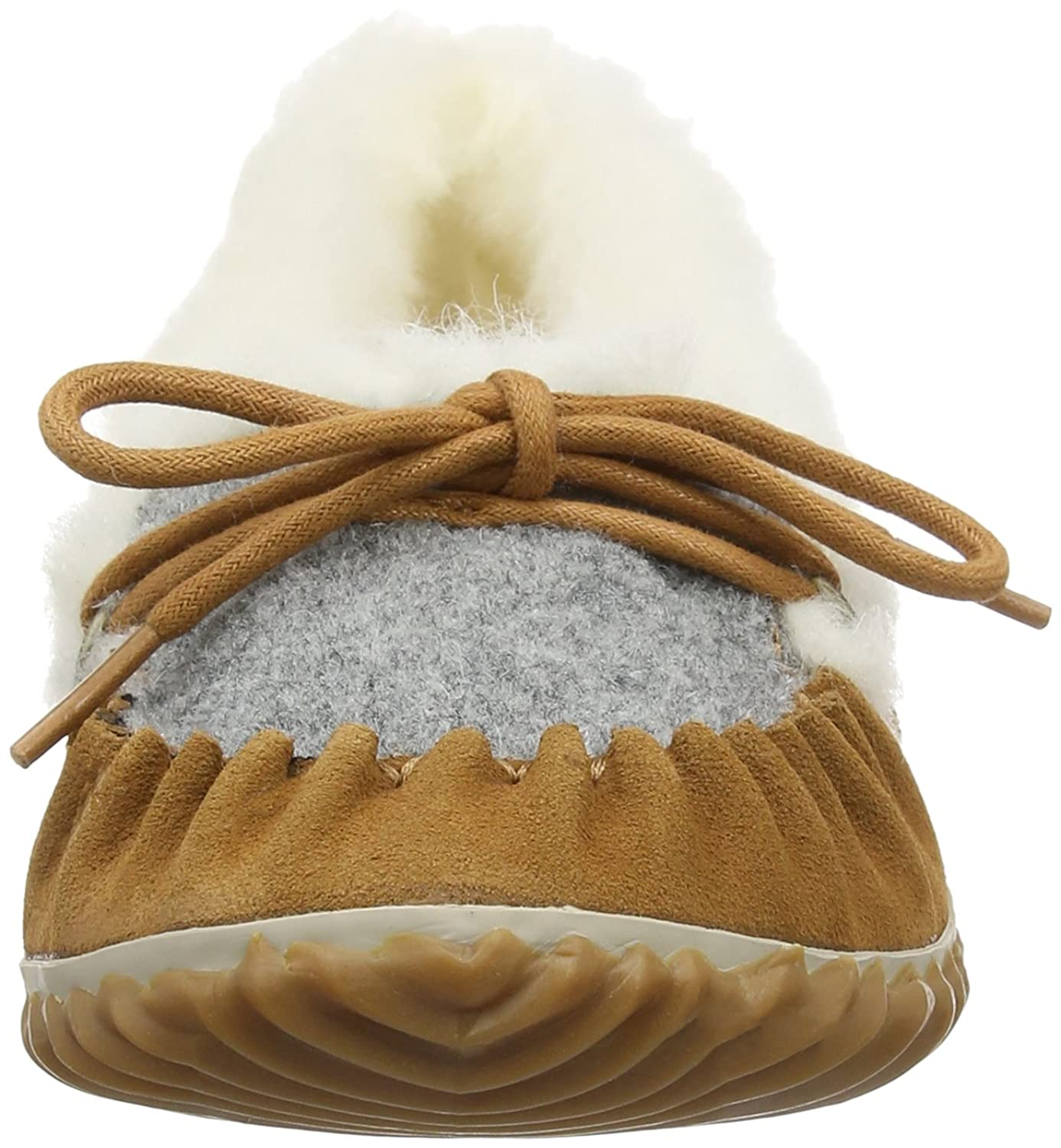 Out N About Slipper, Mocasines para Mujer, Marrón (Elk, Fawn 286Elk, Fawn 286), 36 EU Sorel