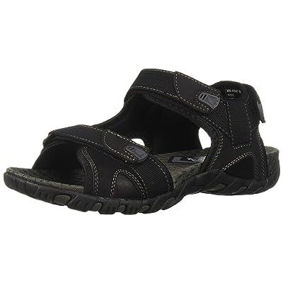 Nunn Bush Men's Rio Bravo Three Strap Outdoor Sport River Sandal with Hook and Loop Closure | Sandals