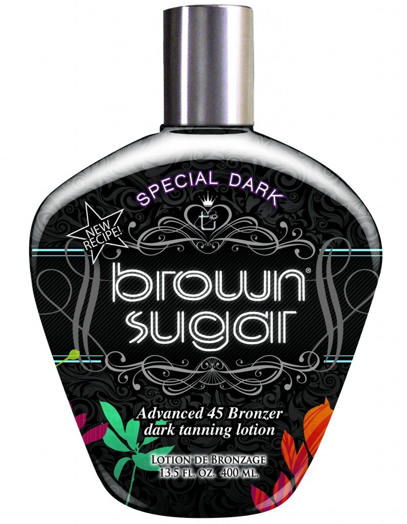 Tan Incorporated Special Dark Brown Sugar Tingle-Free Advanced 45 Bronzer Tanning Lotion 400ml TOTF3