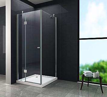 Gut gemocht Duschkabine NOVUM 90 x 90 x 170 cm: Amazon.de: Baumarkt LD96