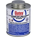 Oatey 30812 X-15 PVC Solvent with Dauber, 16-Ounce