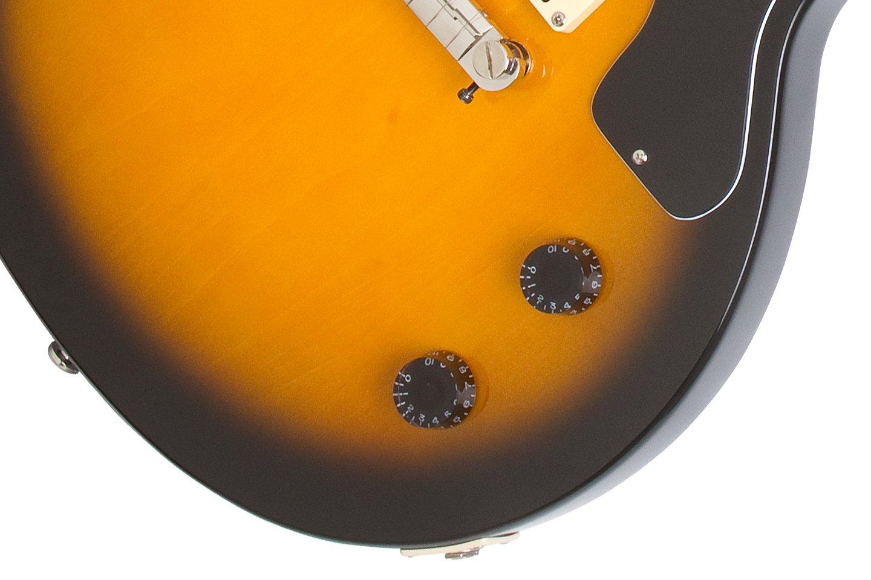 Epiphone Lp Junior Solid Body Electric Guitar Vintage Single Humbucker Wiring Diagram 6 Les Paul Jr Sunburst Musical Instruments