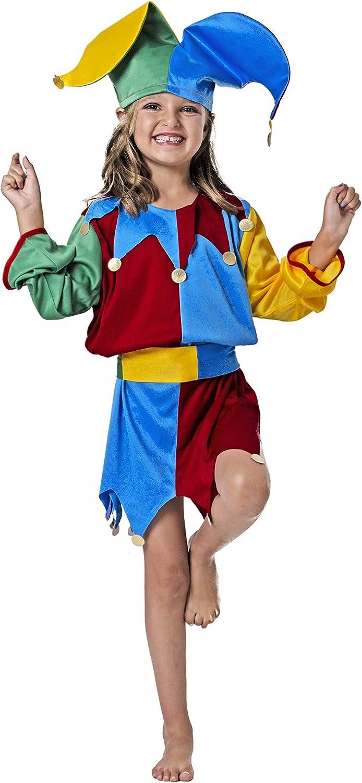 Costumizate! Disfraz de bufon Talla 1-3 Especial para niños ...