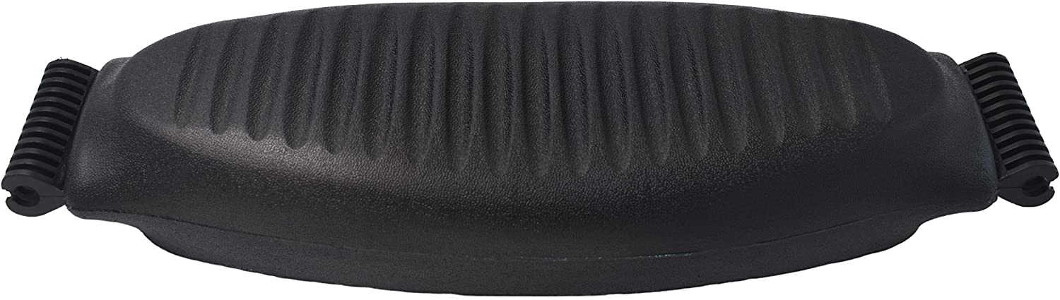 OfficeLogixShop – Lumbar Pad Support for Herman Miller Aeron Chair – Size C – Graphite Color 1 Year Limited Warranty