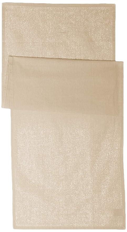 Today 257551 Camino de Mesa de algodón, 50 x 150 cm, algodón, Gris ...