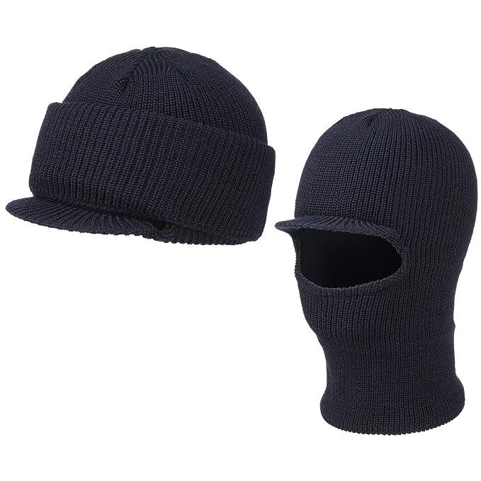 Steven Passamontagna cappello invernale berretto a maglia One Size - blu   Amazon.it  Abbigliamento 3263cf5b4c41