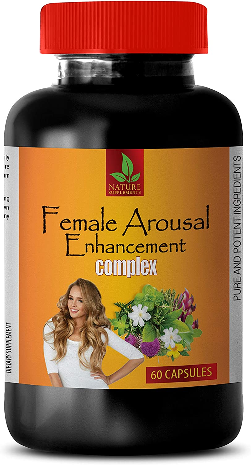 Sexual Boost for Women - Female Arousal Enhancement Complex - Horny Goat Weed bulksupplements - 1 Bottle 60 Capsules