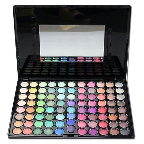 FantasyDay® 88 Colores Sombra De Ojos Paleta de Maquillaje Cosmética #4 - Perfecto para Sso Profesional y Diario