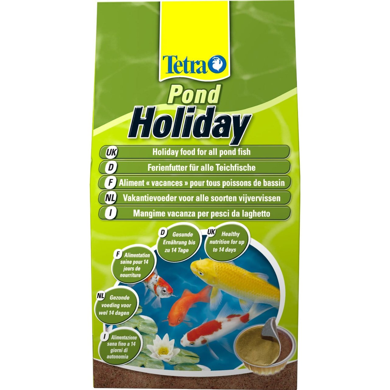 (10 Pack) Tetra TetraPond Holiday Food 98g